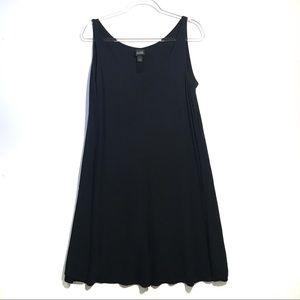 Eileen Fisher Silk Tank Tank Dress w/ Pockets L